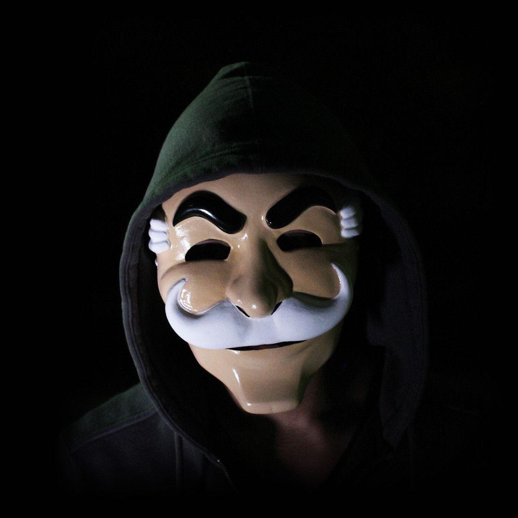HackerMasks | Hacktivist Face Mask work by Mr Robot of fsociety ...