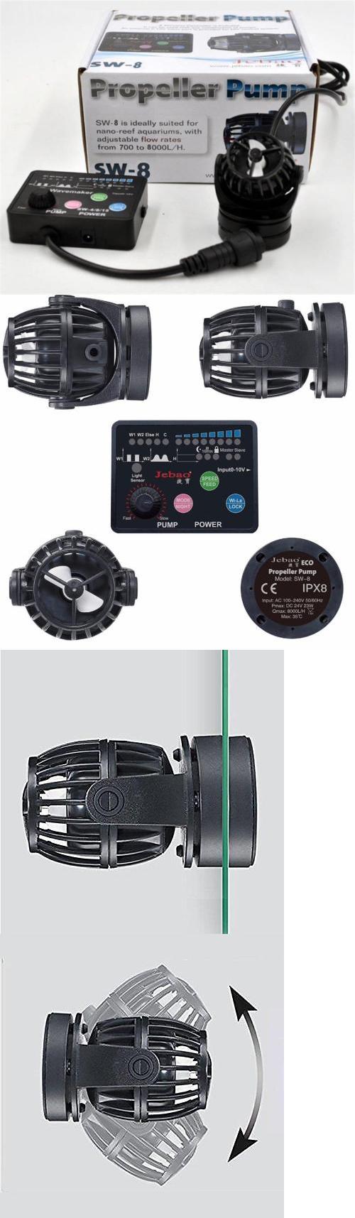 Pumps Water 77641: Jebao / Jecod Sw8 Wireless Wavemaker Aquarium Pump Controller 2017 Model Pp8 Rw8 BUY IT NOW ONLY: $59.95