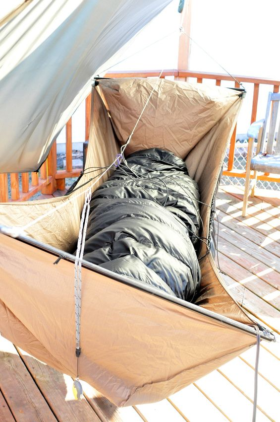 warbon  black momba down quilt set for winter  hanging in a bridge hammock  nice 4th of july camping ideas   hammock tarp camping checklist and      rh   pinterest