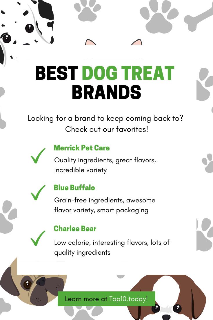 Top 10 Best Dog Treats Best Treats For Dogs Dog Treats Best Dogs