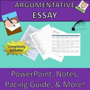Argumentative essay lesson plan