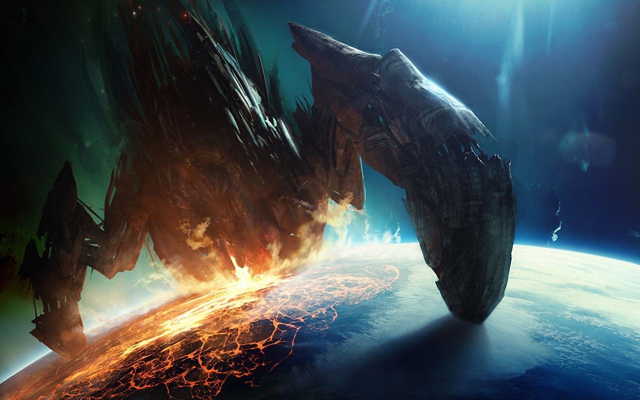 Mass Effect Wallpaper Arte, Paisajes