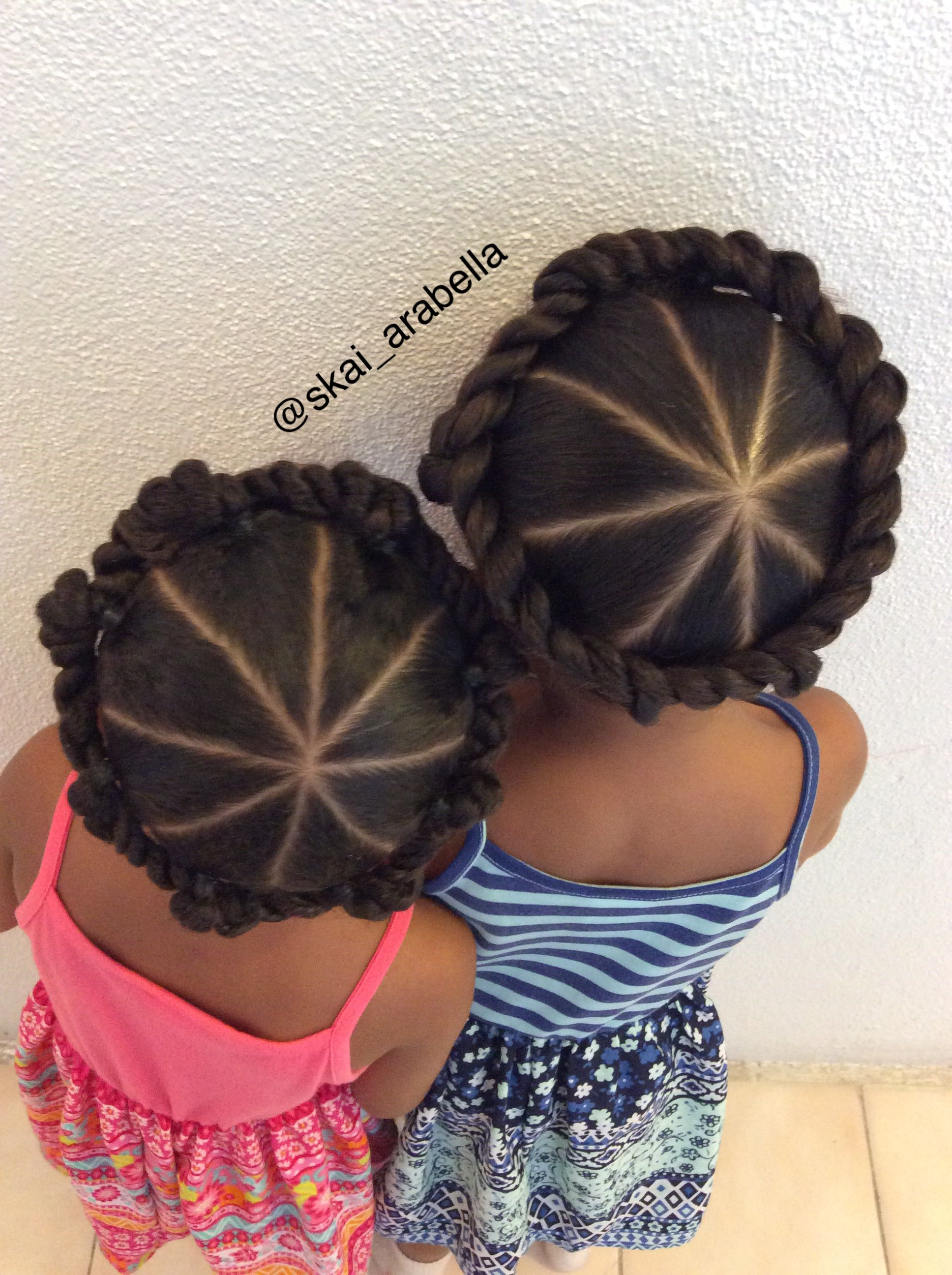 halo twist   cute kids hair styles   black toddler