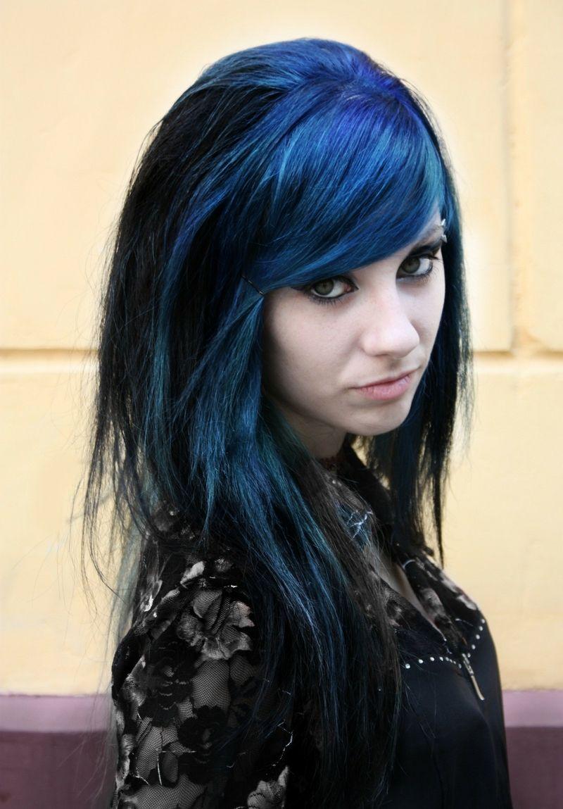 Women russia blue hair gothic dress x wallpaper