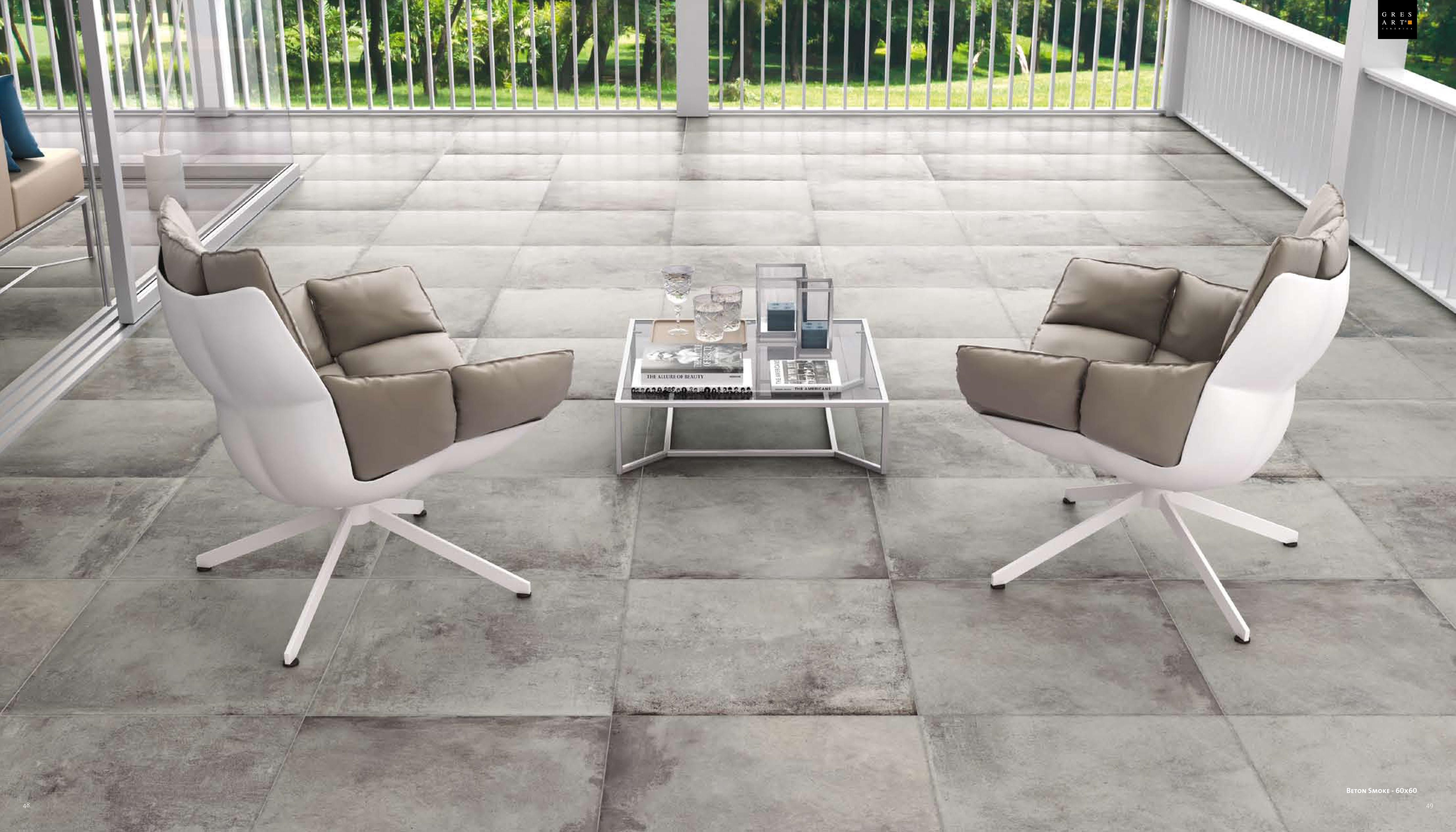 Captivating Gresart Ceramica   Beton Smoke 60x60 # Tiles # Tegels