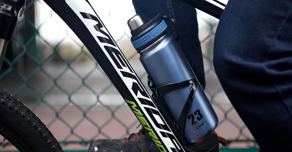 2019 New Portable Outdoor Insulated Water Bottle Bicycle Bike