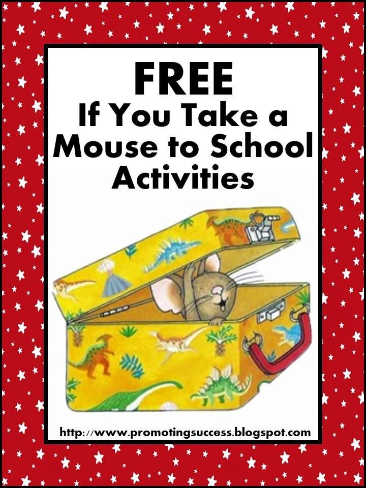 if you take a mouse to school activities tpt free lessons