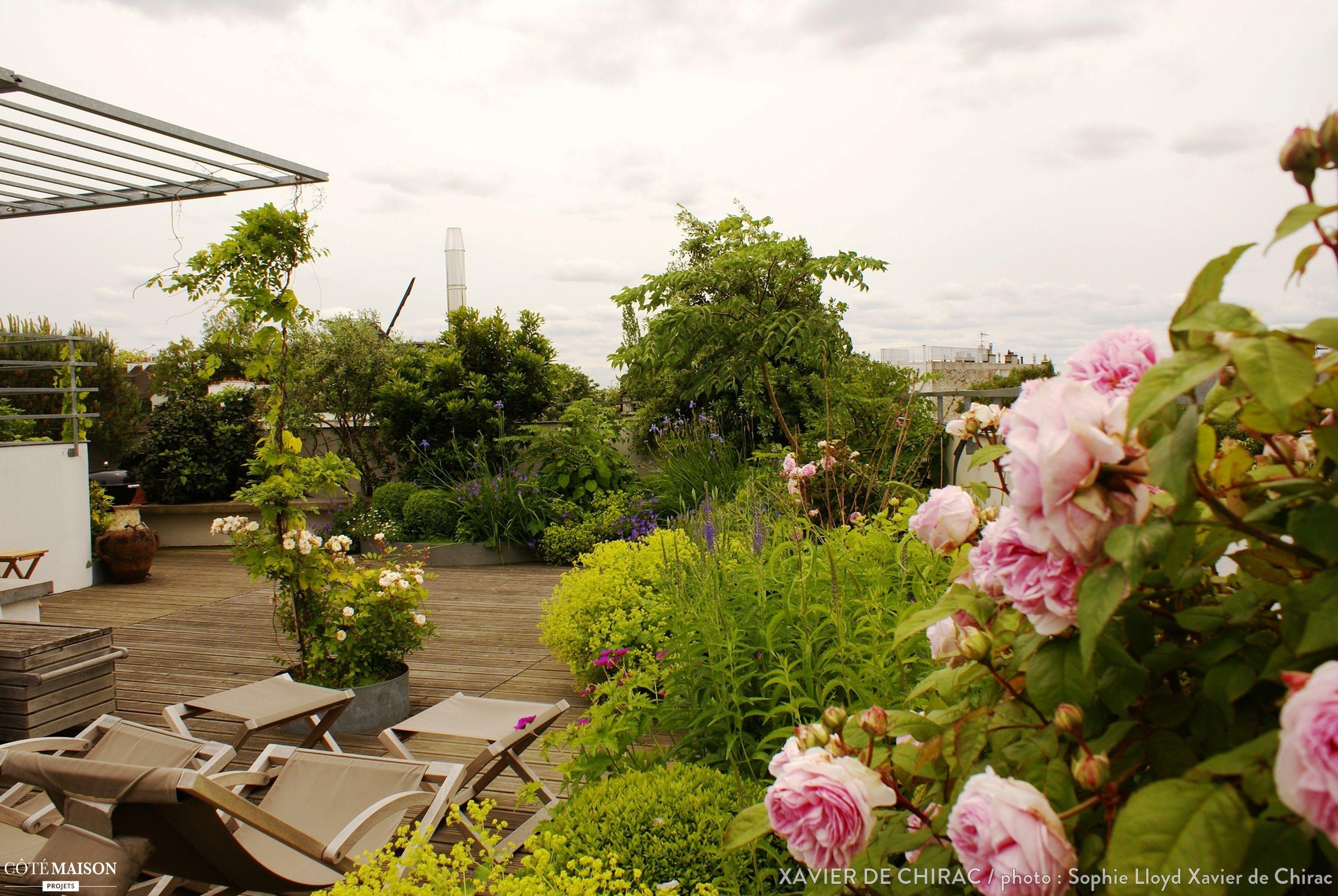 Création  d'une terrasse champêtre