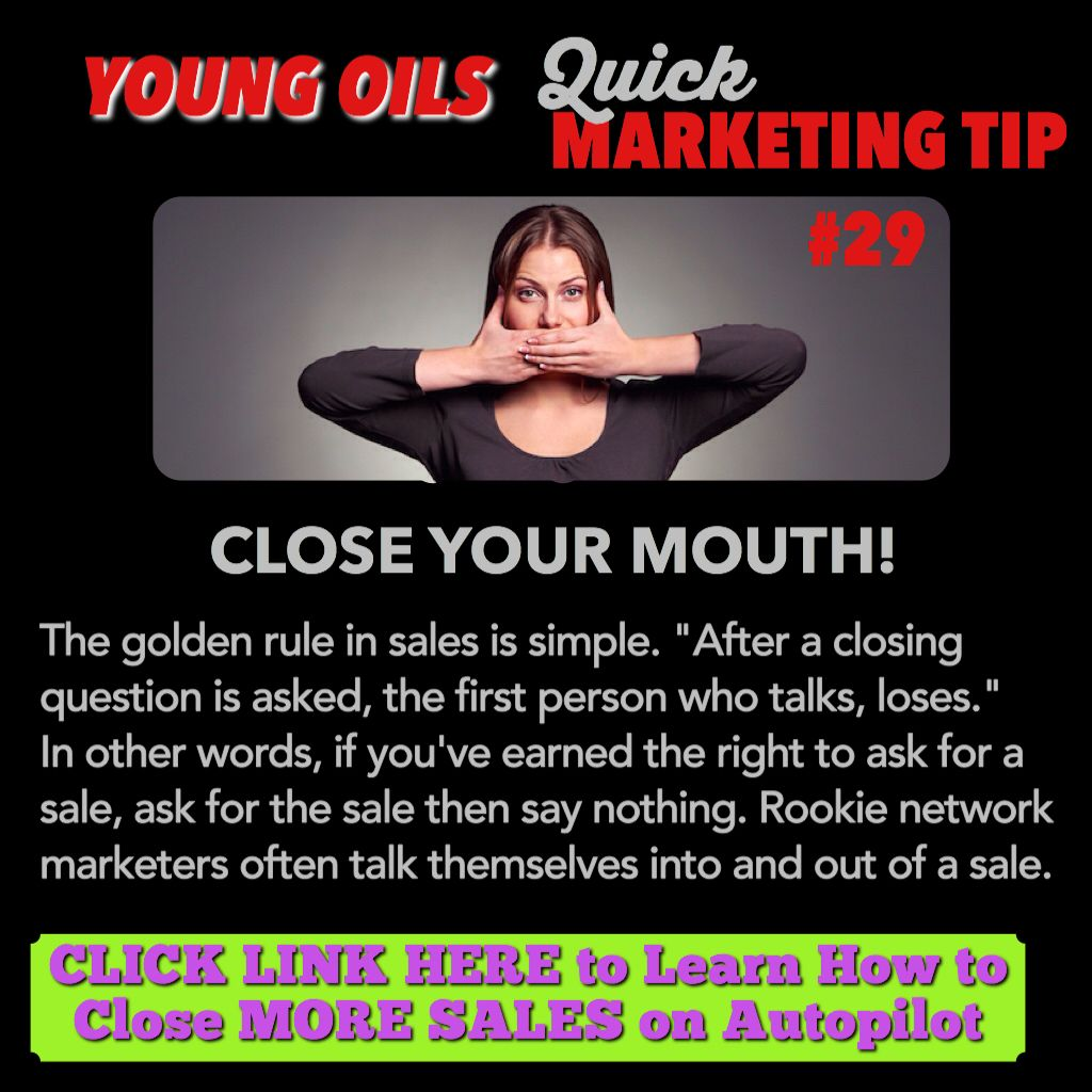 young living thieves oil   Do you use this closing technique in your business?  Click link here to learn how to close more sales on autopilot: http://iwritemypaycheck.com/bsmpp/?t=pinterest-young-living-thieves-oil-11915 #younglivingthievesoil #thievesyoungliving