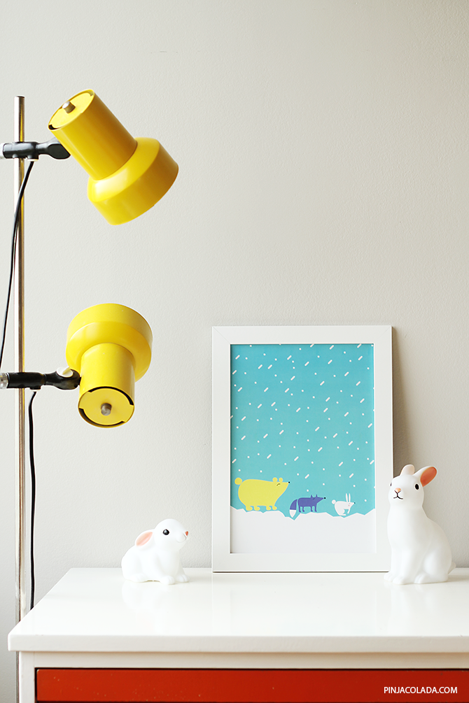 My animal friends prints, by Pinja/Pinjacolada