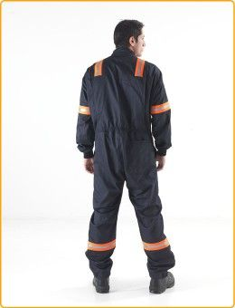 eeb8693bde77 ARCBAN® Deluxe Mandarin Collar Coverall made from Nomex® - JK Ross Arc Flash  Protection  offshore  utilities  facilities  construction  maintenance ...