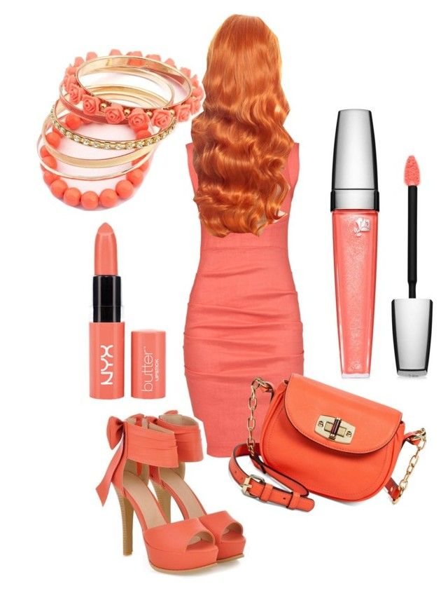 """""""Untitled #2"""" by aliewa ❤ liked on Polyvore featuring beauty, Nicole Miller, JY Shoes, Merona, Lancôme and Ruby Rocks"""