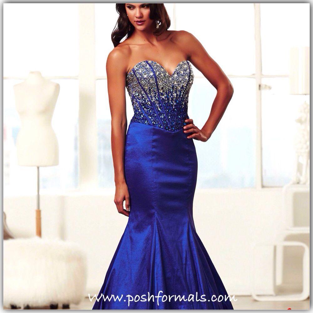 MacDuggal Royal blue Mermaid gown. Posh in LaGrange, KY www ...