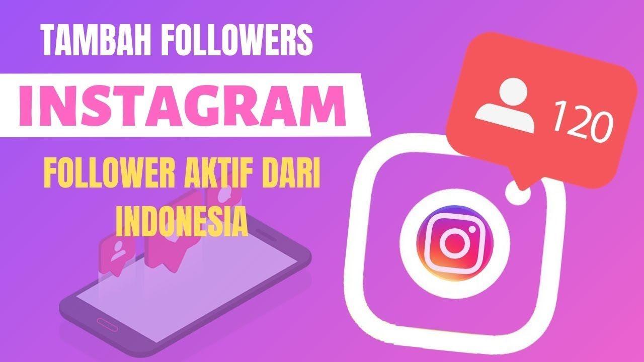 Cara Menambah Follower Instagram Aktif Instagram Science Aplikasi