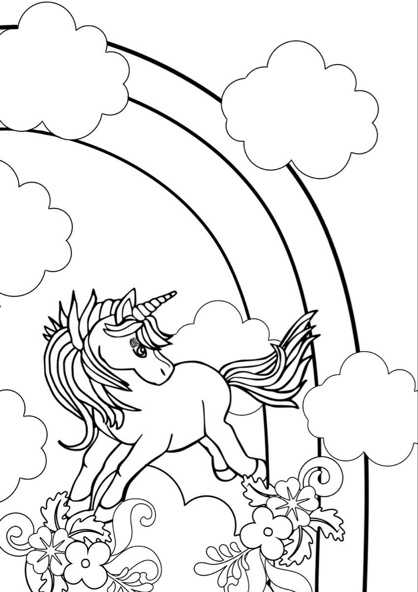 Free Download Unicorn Coloring Page Unicorn Coloring Pages Coloring Pages Unicorn Printables