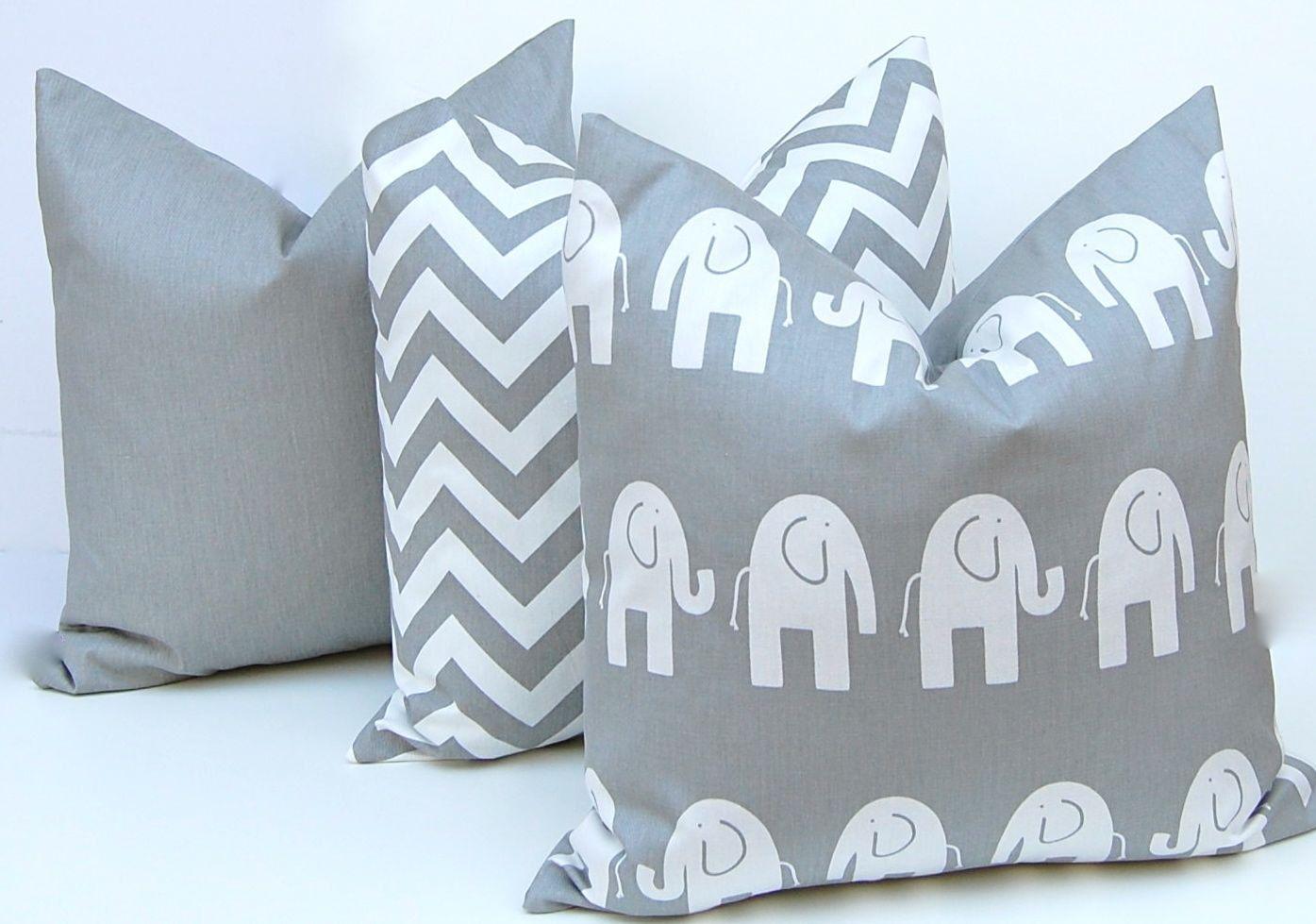 Gray pillow cover throw pillow cover decorative pillow pillow