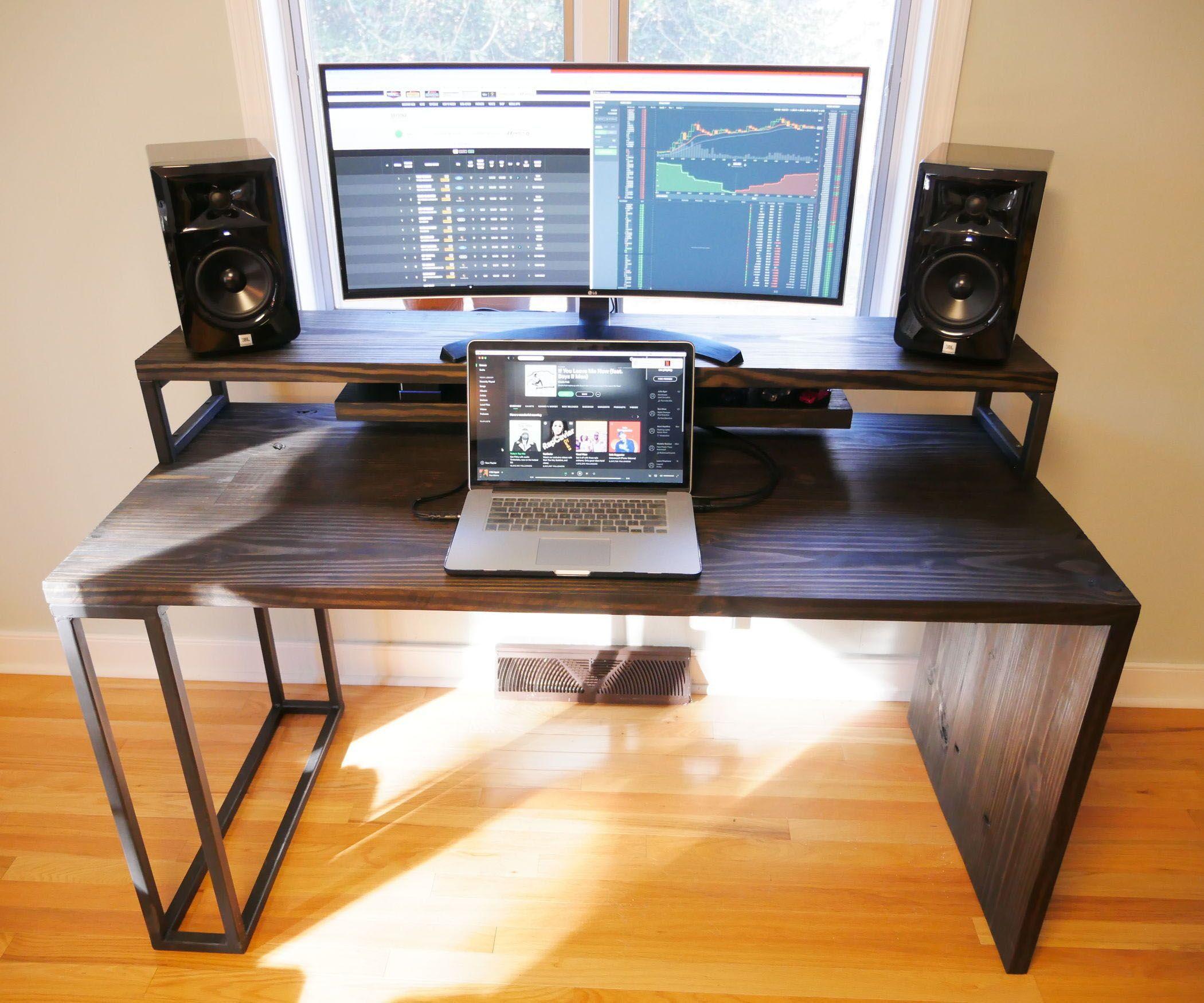 Real Home Inspiration Computer Desk Reddit Only On This Page Computer Desk Desk Minimalist Computer Desk