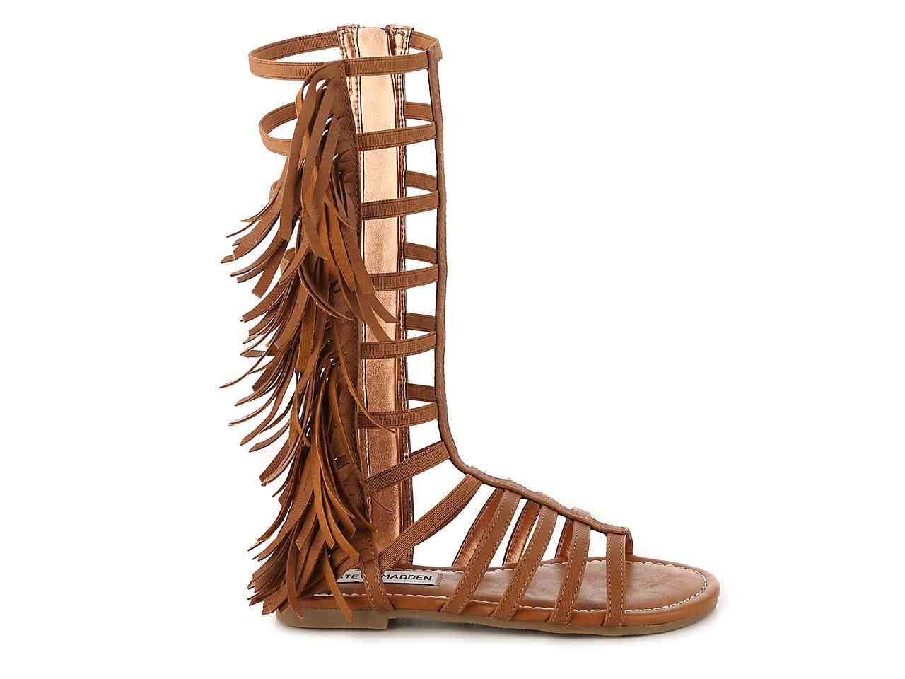 a039329506d Steve Madden Kalsi Youth Gladiator Sandal Kids Shoes   DSW   Max ...