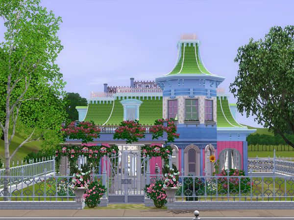 sweet berry victorian housechristine - sims 3 downloads cc