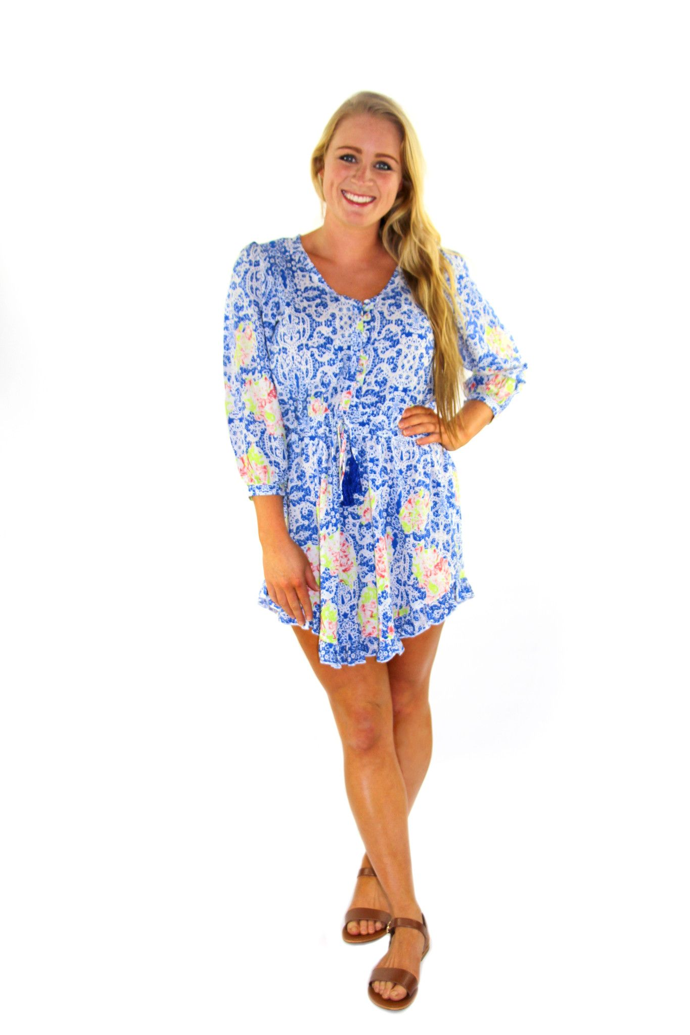 Blue Wishes Dress – Four Love