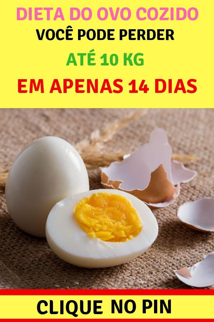 dieta ovo cozido para perder peso rapido