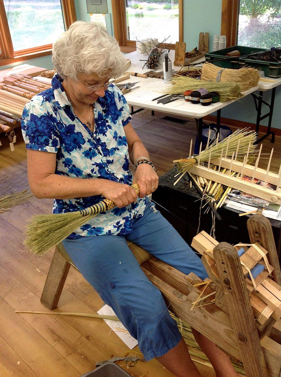 Broom Making Class
