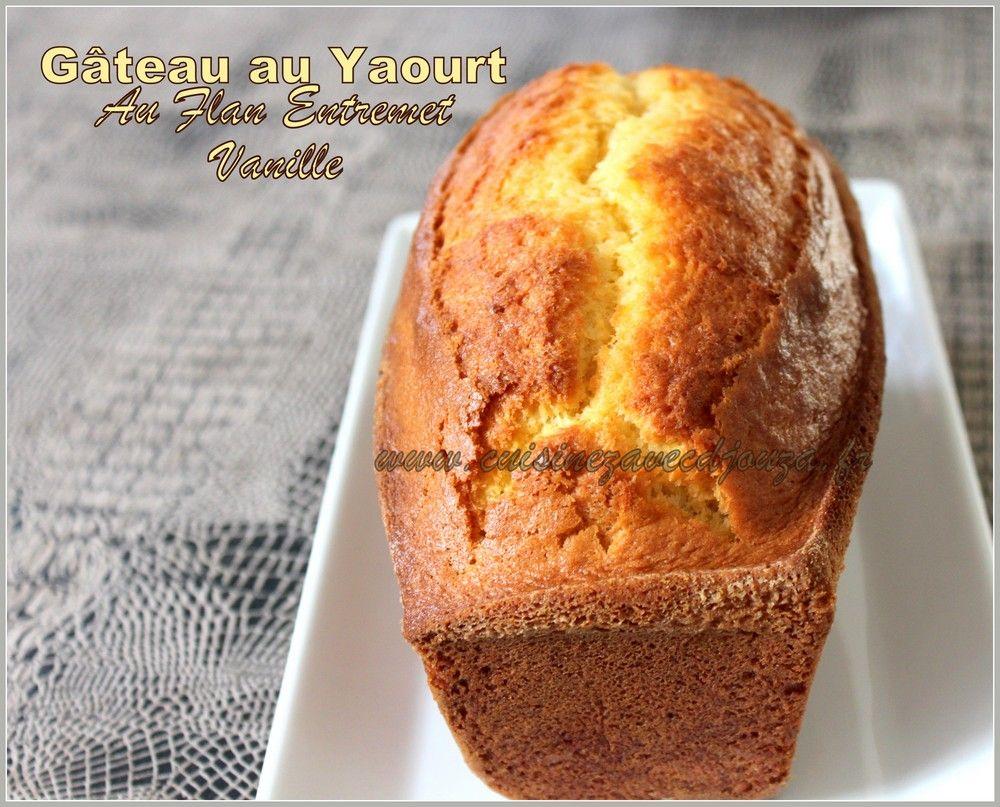Gâteau Au Yaourt Saveur Vanille Cakes Gateau Yaourt Facile