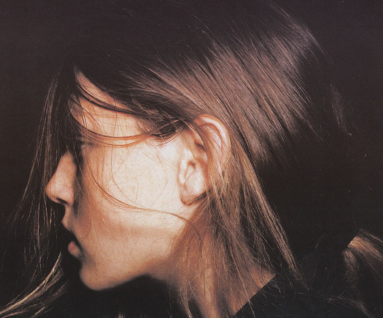 Angela Lindvall by David Sims for Jil Sander, S/S 1998