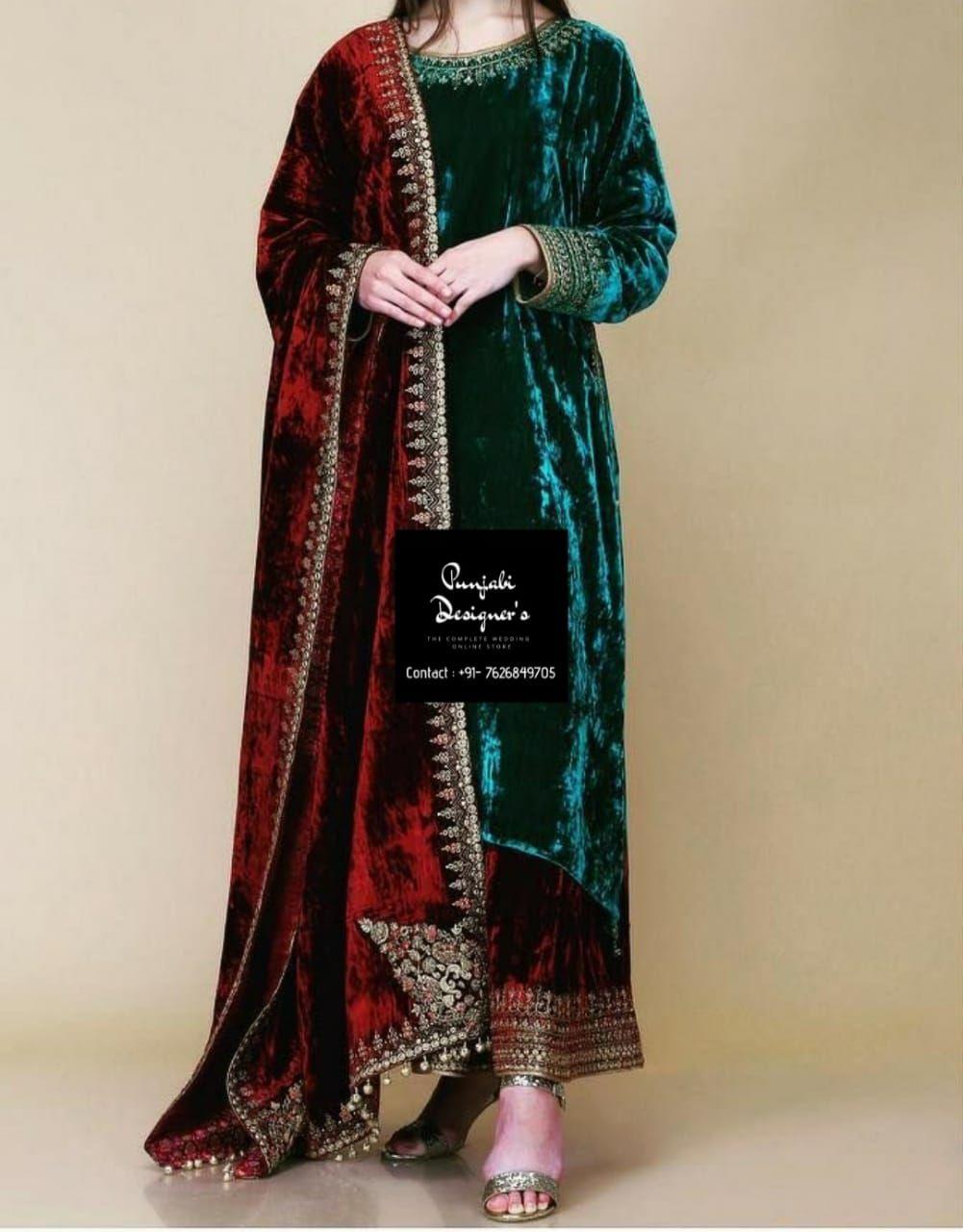 Buy Punjabi Suit Online India Buy Punjabi Suit Online Malaysia Buy Punjabi Suit Online Canada Velvet Dress Designs Punjabi Suits Designer Boutique Party Wear