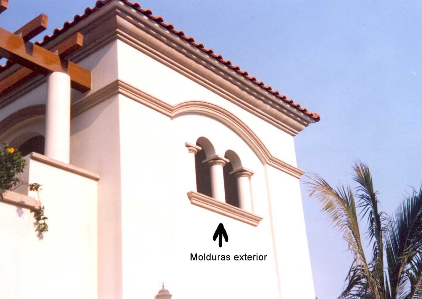 Molduras para casas exterior buscar con google - Molduras para ventanas exteriores casas ...