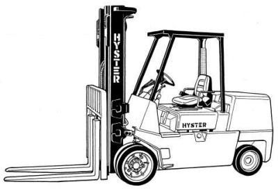 Hyster Forklift Truck D004 Series: S70XL, S80XL, S100XL