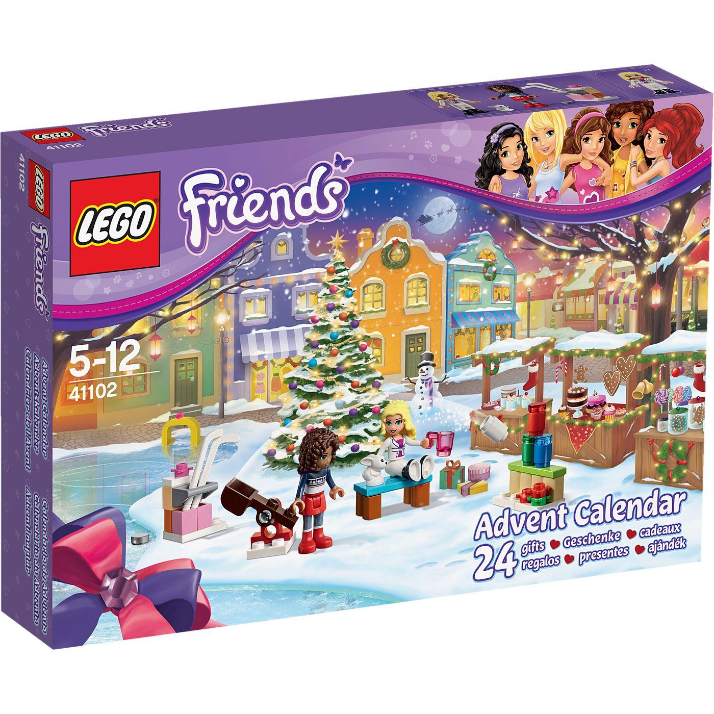 Lego Friends Advent Calendar 41102 Kids Asda Direct Lego