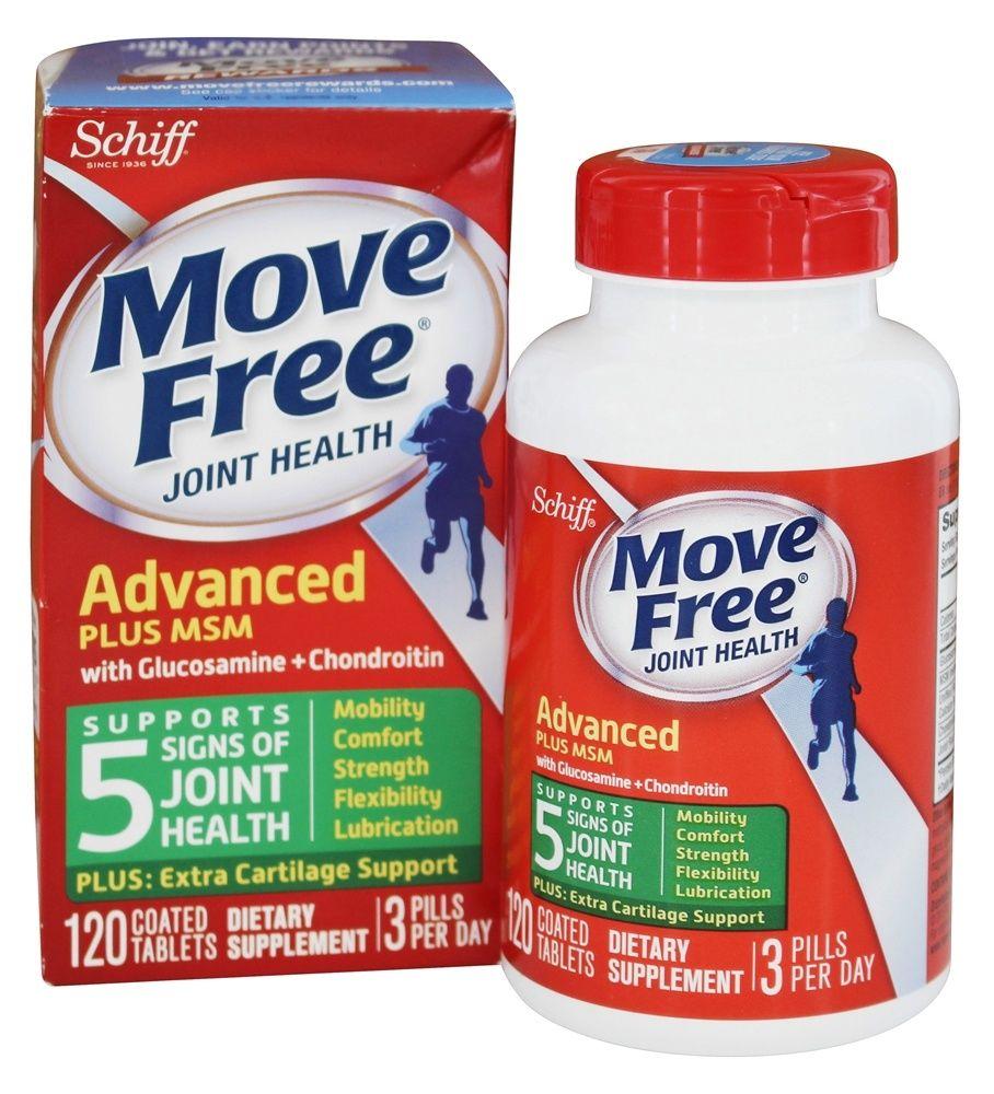Schiff Move Free Glucosamine Chondroitin Plus Msm 1500 Mg 120 Tablets Glucosamine Chondroitin Joint Health Glucosamine Chondroitin Msm