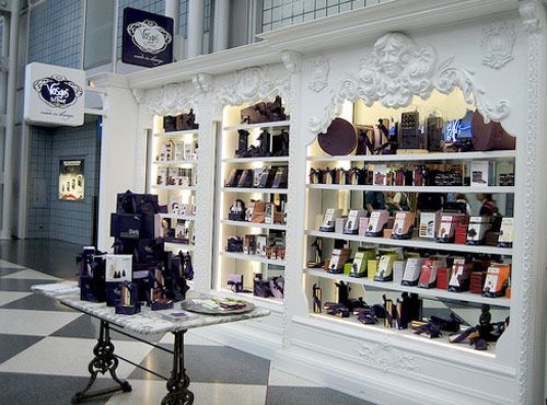 Sweeten Up Your Layover In Chicago Ou0027Hare At Vosges Chocolate Shop ||