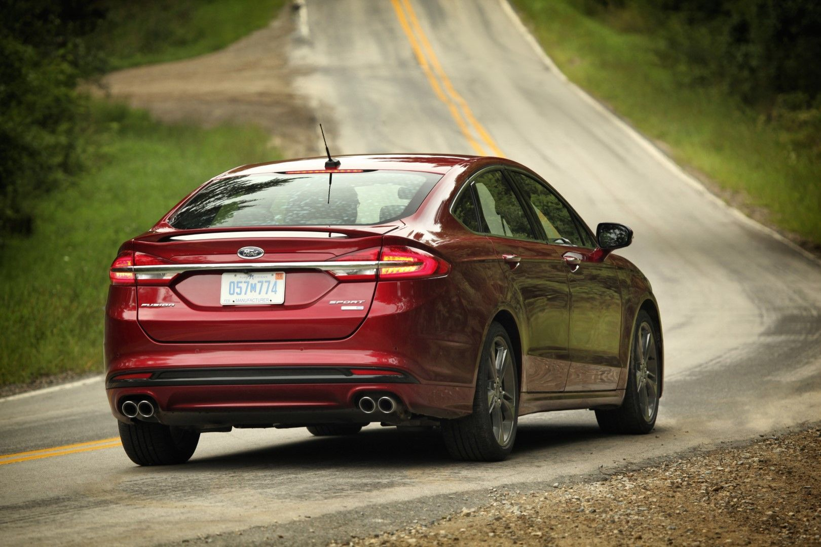 20172018 Ford Fusion Sport 2.7liter DOHC twinturbo V6