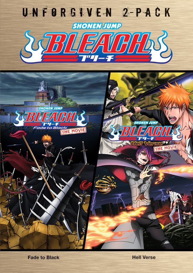 New BLEACH ANIME DOUBLEFEATURE Home Media Set Debuts