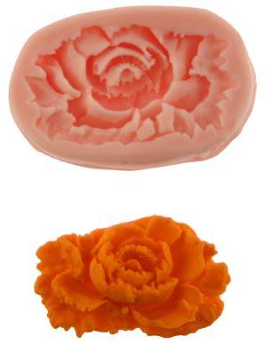Bazillian Rose Silicone Mold - SSA-NM115