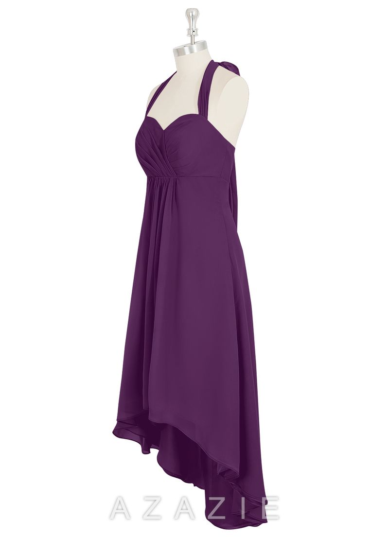 Shop Azazie Bridesmaid Dress - Annabel in Chiffon. Find the perfect made-to-order bridesmaid dresses for your bridal party in your favorite color, style and fabric at Azazie.