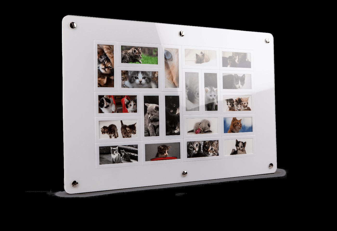 Mosaik Rahmen Moo Deutschland Visitenkarten Neu