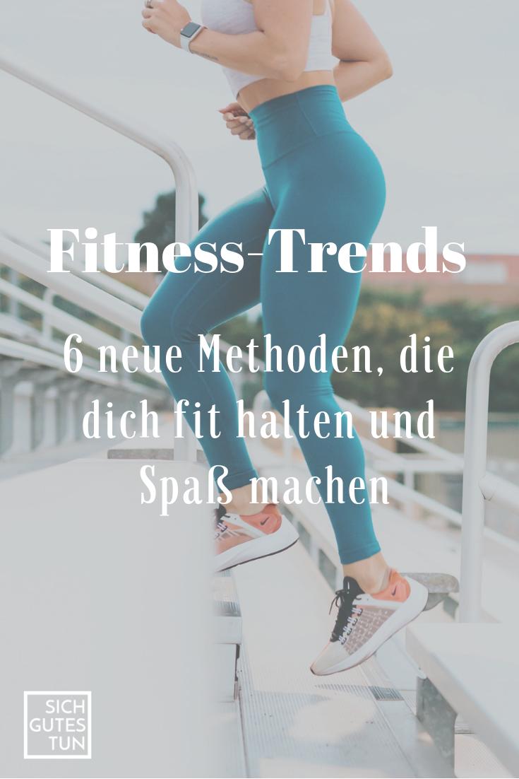 Aktuelle Fitnesstrends