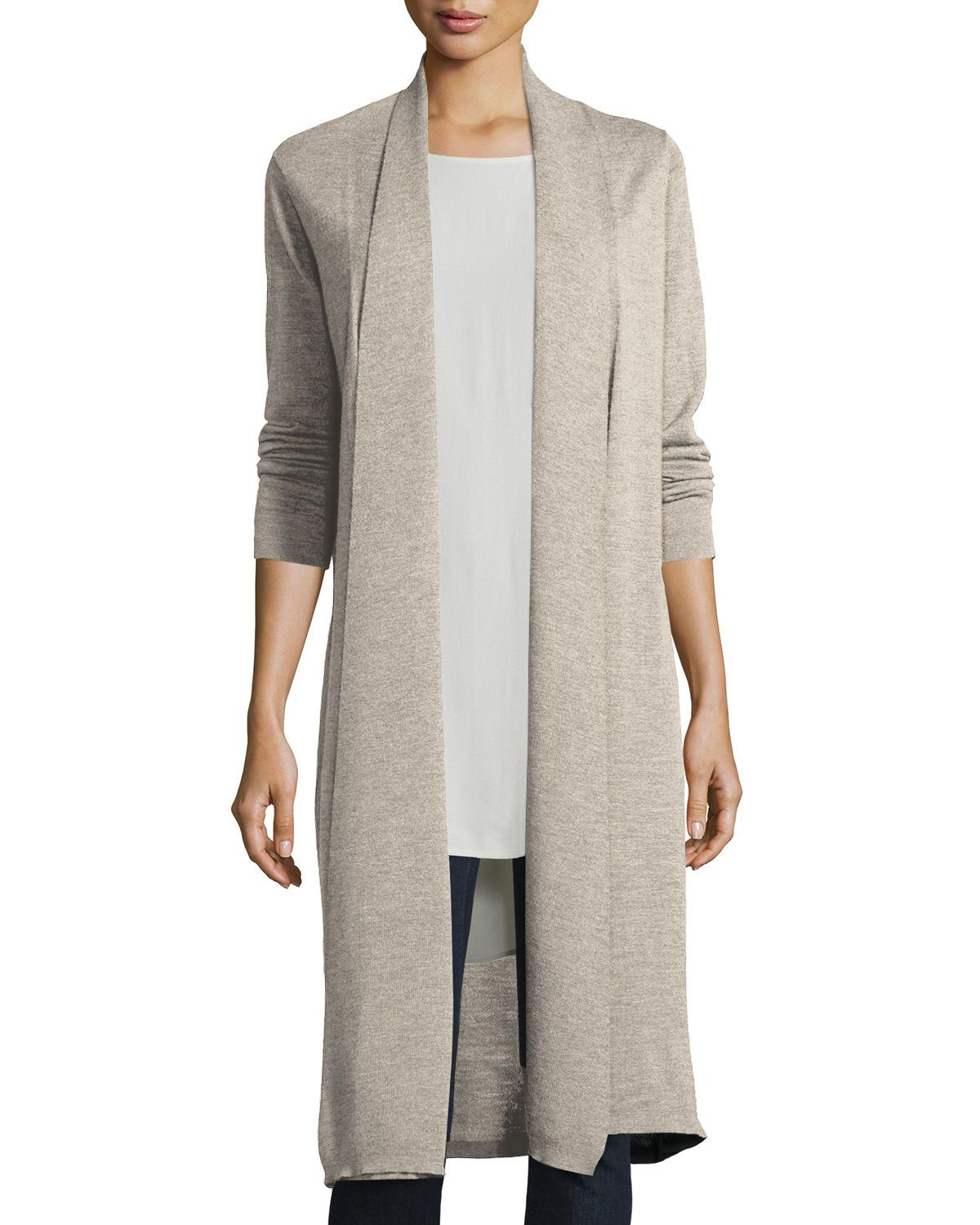 Washable Wool Kimono Duster Cardigan | Products | Pinterest ...