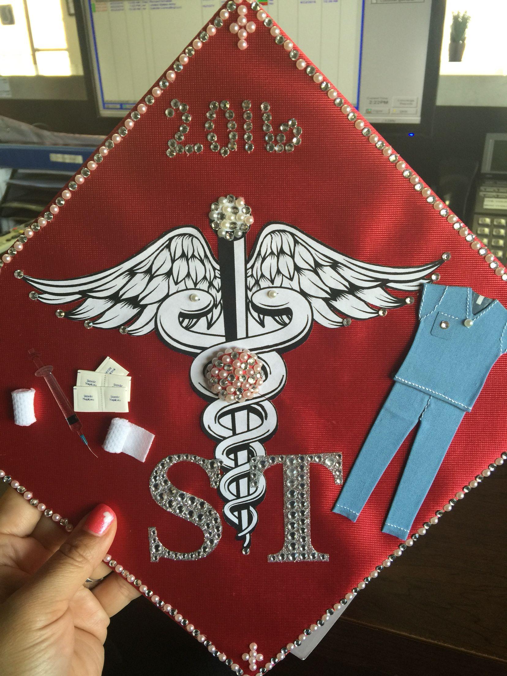 Graduation Cap For Surgical Technologist Graduation Cap Graduation Cap Decoration Surgical Technologist