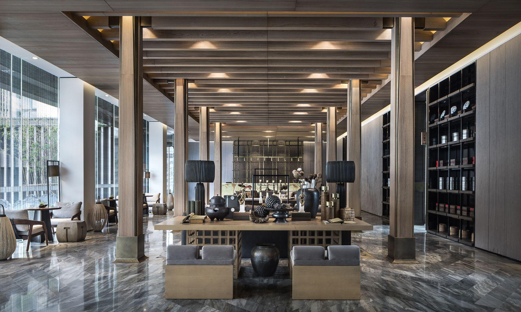 DOME&ASSOCIATES www.domecn.com   Hotel lobby design, Hotel lounge ...