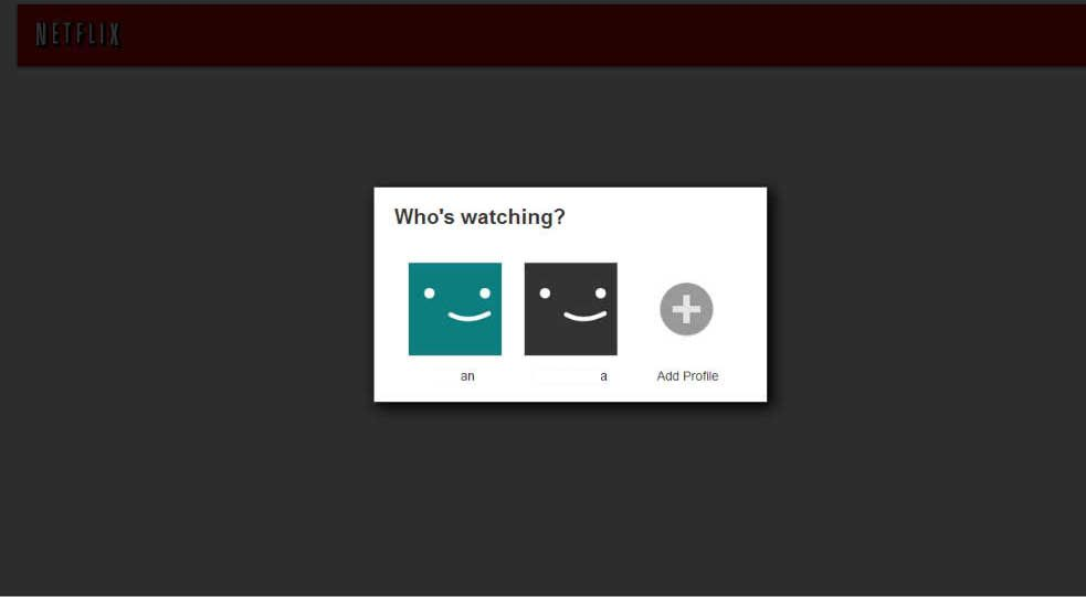 Netflix supports the multi-user experience yay!