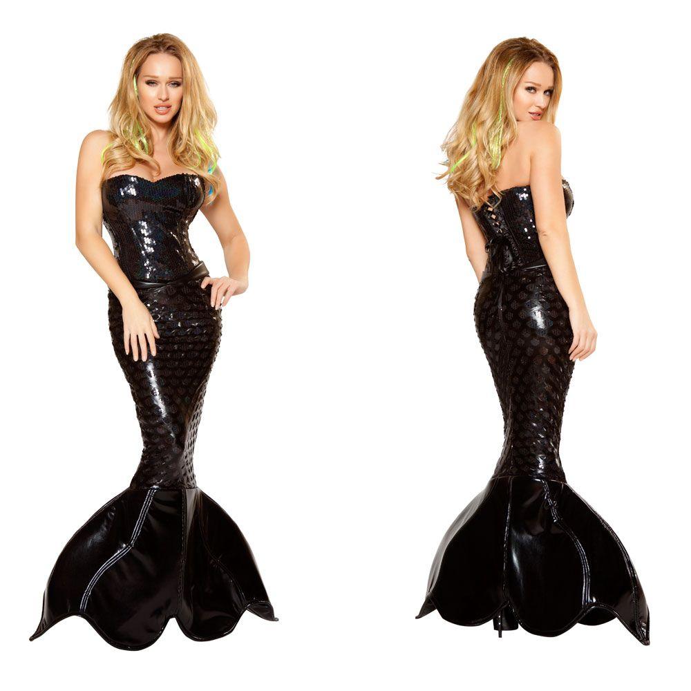 Mermaid Costume Mermaids & Unicorns Strapless Dress