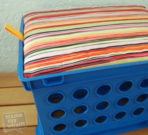 Love This Idea For A Toy Box: DIY Storage Crates/seats