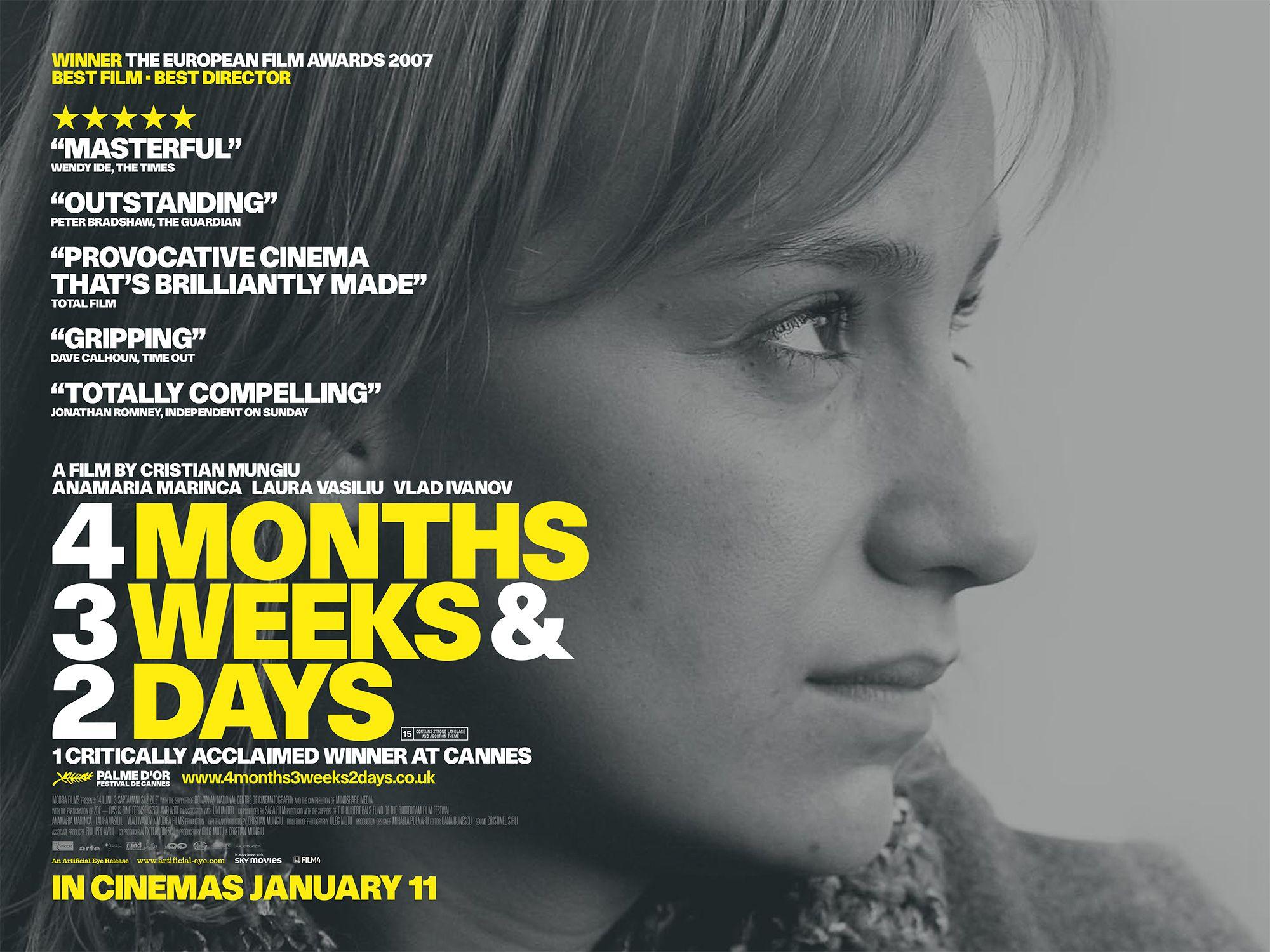 4 months 3 weeks and 2 days dvd movie online subtitles | nalima