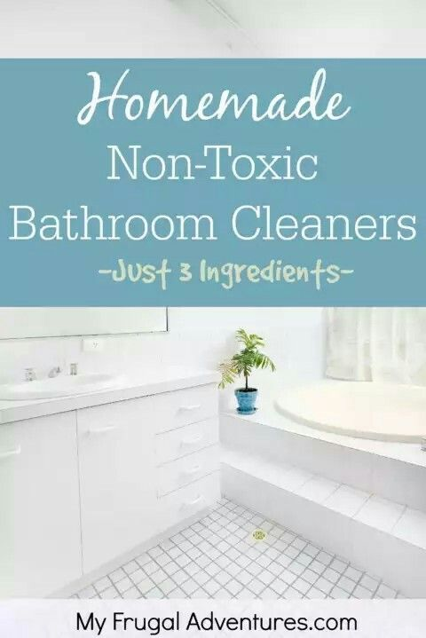 Pin By Nidhi On Cleaning Tips Pinterest - Best non toxic bathroom cleaner