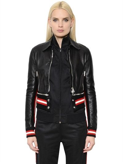 Givenchy Transformer Nappa Leather Jacket Black Deri Ceket Deri