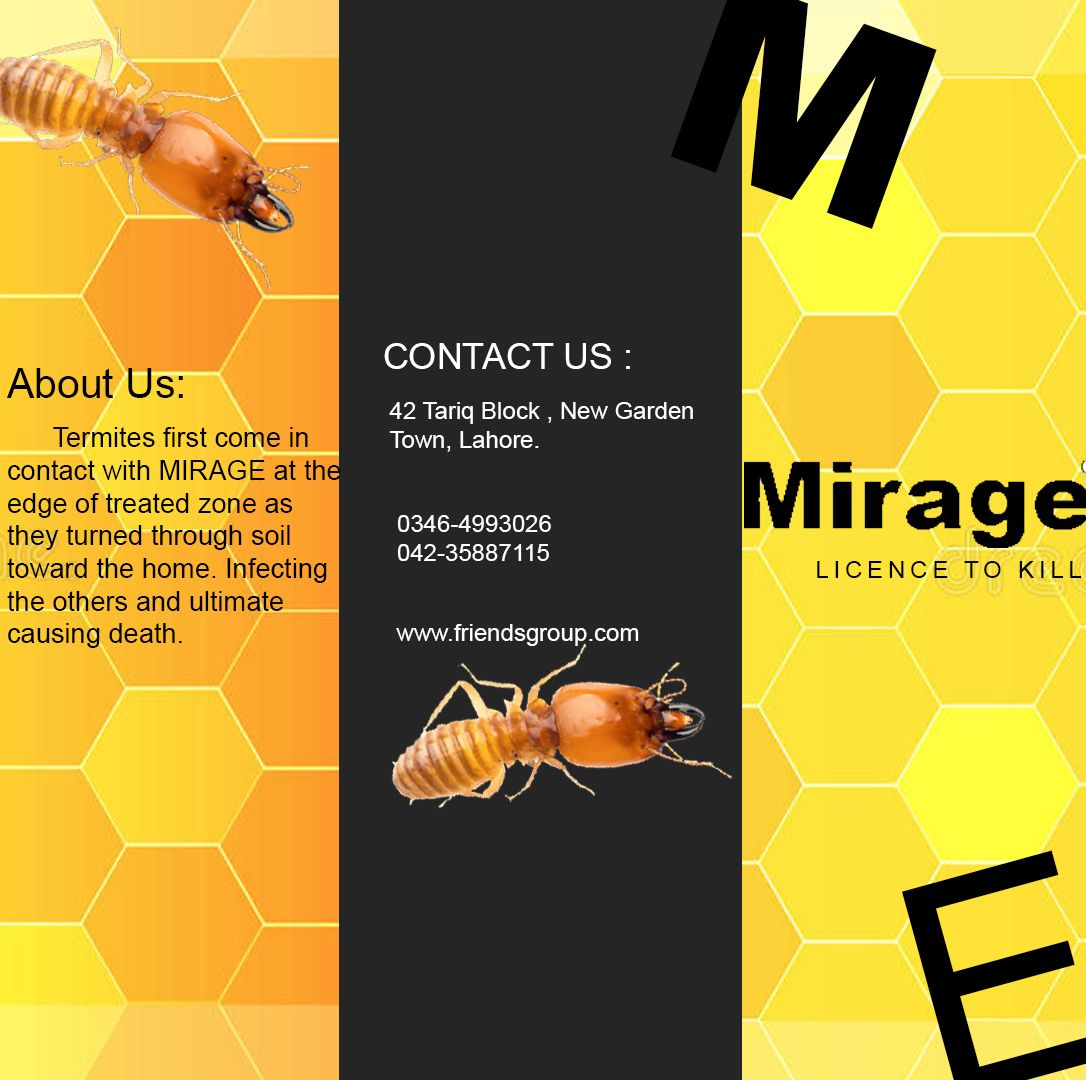 Mirage Is The Best Anti Termite Chemical Used World Wide 0346 4993026 Fumigation Services Termite Proof Termite Treatment